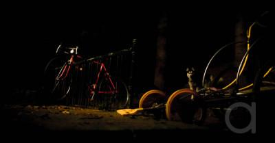 Makeshift Bike Cart